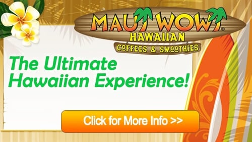 Maui Wowi Coffees and Smoothies franchise for sale business opportunity