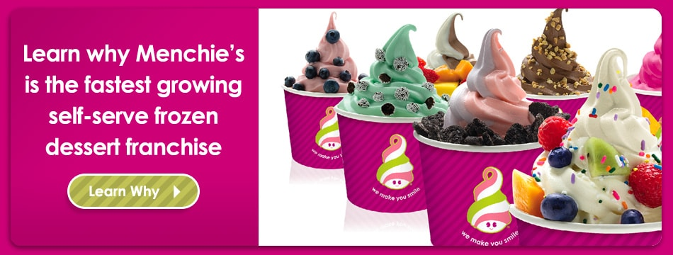 What is Menchies Frozen Yoghurt franchise nz